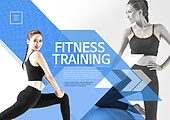 한국인, 브로슈어 (템플릿), 운동 (스포츠), 스포츠트레이닝 (연습), 여성