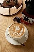 카페라떼,