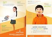 한국인, 브로슈어 (템플릿), 카피스페이스 (구도), 교육 (주제), 학교, 학생