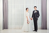 한국인, 신랑, 신부 (결혼식역할), 결혼, 결혼식, 웨딩드레스, 사랑 (컨셉)