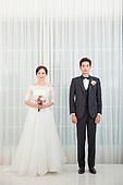 한국인, 신랑, 신부 (결혼식역할), 결혼, 웨딩드레스, 예복, 사랑 (컨셉)