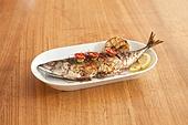 고등어구이 (생선구이), 로스트 (요리), 반찬, 한국음식 (아시아음식)