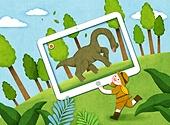 교육 (주제), 어린이, 상상력 (컨셉), 4차산업혁명 (산업혁명), 공룡