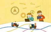 교육 (주제), 어린이, 상상력 (컨셉), 4차산업혁명 (산업혁명), 과학