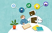 교육 (주제), 어린이, 상상력 (컨셉), 4차산업혁명 (산업혁명), 로봇, 인공지능
