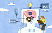 교육 (주제), 어린이, 상상력 (컨셉), 4차산업혁명 (산업혁명), 뇌, 인공지능