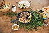 음식, 스테이크, 쇠고기 (붉은고기), 육류, 저녁식사