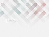 원형 (이차원모양), 레트로스타일 (컨셉), 그라데이션, 백그라운드