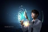 비즈니스, 4차산업혁명 (산업혁명), 컴퓨터네트워크 (컴퓨터장비), 사이버스페이스 (컨셉), 글로벌비즈니스, 디지털