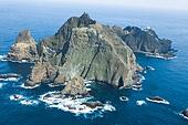 대한민국 (한국), 독도, 동해바다, 바다, 자연 (주제), 천연기념물, 항공촬영