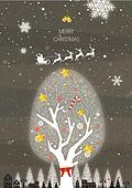 일러스트 (이미지), 백그라운드, 겨울, 풍경 (컨셉), 크리스마스, 눈 (얼어있는물), 선물 (인조물건), 상업이벤트 (사건)