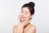 뷰티, 깨끗함 (좋은상태), 미녀 (아름다운사람), 얼굴 (사람머리), 한국인, 아름다움