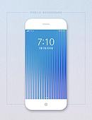 스마트폰, 백그라운드, 그라데이션, 선 (모양), 유저인터페이스