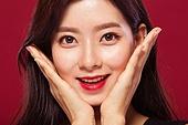 청년여자 (성인여자), 뷰티, 미녀 (아름다운사람), 피부, 한국인, 아름다움, 섹시