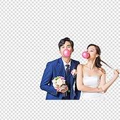 파워포인트 (이미지), PNG, 결혼 (사건), 웨딩드레스 (드레스), 턱시도, 누끼 (컷아웃), 결혼식, 한국인, 부부, 스몰웨딩