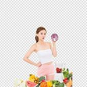 파워포인트 (이미지), PNG, 누끼, 한국인, 여성, 깨끗함, 뷰티, 아름다움