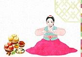 명절,전통,한복,한국인,한국전통,추석,보름달,한가위