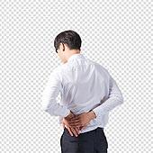 파워포인트 (이미지), PNG, 한국인, 남성, 누끼, 비즈니스맨, 한명, 고통 (컨셉)