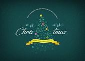 크리스마스, 연말, 연하장