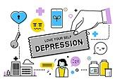 정신건강, 고통 (컨셉), 질병, 스트레스 (컨셉), 우울, 우울 (슬픔)
