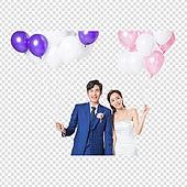 파워포인트 (이미지), 누끼 (컷아웃), PNG, 결혼 (사건), 웨딩드레스 (드레스), 한국인, 축하이벤트 (사건), 부부
