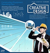 브로슈어 (템플릿), 책표지, 비즈니스, 건설 (산업), 부동산 (컨셉), 한국인, 남성, 비즈니스맨