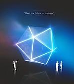 그래픽이미지 (Computer Graphics), 합성, 비즈니스, 초현대적 (컨셉), 기술, 4차산업혁명 (산업혁명), 산업, 발견
