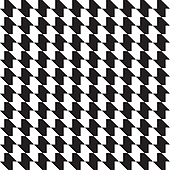 Seamless vector pattern. Abstract black and white background.