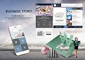 웹템플릿, 모바일템플릿, 휴대폰 (전화기), 스마트폰, User interface (Topic), UI KIT, 비즈니스, 금융, 부동산, 비트코인, 가상화폐, 인터넷뱅킹 (전자상거래), 모바일뱅킹 (인터넷뱅킹), 은행 (금융빌딩)