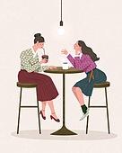 라이프스타일, 한복, 전통문화 (주제), 전통의상, 생활한복, 커피 (뜨거운음료)