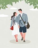 라이프스타일, 한복, 전통문화 (주제), 생활한복, 커플, 데이트