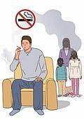 금연 (흡연문제), 흡연 (주제), 담배제품 (인조물건), 흡연문제 (컨셉), 간접흡연, 방독면, 아버지 (부모)
