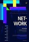 포스터, 5G, 4차산업혁명 (산업혁명), 초현대적 (컨셉), 기하학 (수학), 기하학모양, 컴퓨터네트워크 (컴퓨터장비), 기술