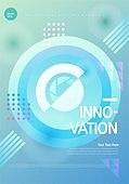 포스터, 5G, 4차산업혁명 (산업혁명), 초현대적 (컨셉), 기하학 (수학), 기하학모양, 혁신 (컨셉)