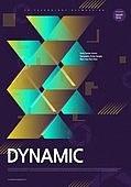 포스터, 5G, 4차산업혁명 (산업혁명), 초현대적 (컨셉), 기하학 (수학), 기하학모양, 활력 (컨셉), 기술