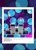 패턴, 랜드마크, 건물외관 (건설물), 기하학모양 (모양), 모양 (묘사), 선 (모양), 한국종합무역센터 (서울)