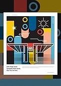 패턴, 랜드마크, 건물외관 (건설물), 기하학모양 (모양), 모양 (묘사), 선 (모양), 올림픽공원