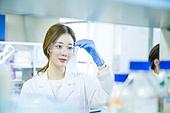한국인, 대학생, 여성, 과학실험 (사건), 연구 (주제), 생명공학, 의료직, 집중