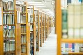 대학교, 도서관, 책장, 캠퍼스