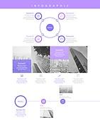 그래프, 도표 (시각교재), 디자인엘리먼트, 비즈니스, 인포그래픽, 울트라바이올렛 (색상), 트렌드