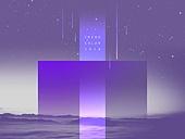 울트라바이올렛, 보라, 트렌드, 컬러, 창의성 (컨셉), 초현대적 (컨셉), 미래주의, 상상력, 백그라운드
