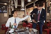 한국인, 남성, 직원모임, 비즈니스맨 (사업가), 회식, 연말, 새해 (홀리데이), 송년회 (파티), 신년회, 신입사원 (화이트칼라)