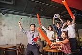 한국인, 화이트칼라 (전문직), 펍 (바), 월드컵축구, 환호 (말하기)