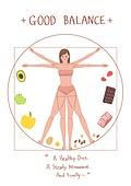 라이프스타일, 여성 (성별), 다이어트, 건강관리 (주제), 건강한생활 (주제), 식단, 균형 (컨셉)