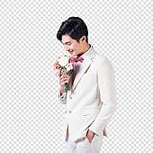 파워포인트 (이미지), PNG, 누끼, 한국인, 결혼 (사건), 축하 (컨셉), 축하이벤트 (사건), 남성, 신랑, 흰색 (색상), 약혼 (축하이벤트)