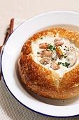 빠네파스타 (파스타), 파스타, 빵,서양음식,이탈리아음식,레스토랑,클로즈업