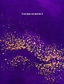 편집디자인, 그래픽이미지 (Computer Graphics), 백그라운드, 카피스페이스 (구도), 금색 (색상), 프레임, 레이아웃, 책표지, 책표지 (주제), 붓터치, 번짐, 포스터, 보라 (색상), 울트라바이올렛 (보라)