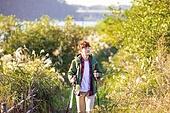 한국인, 남성, 하이킹 (아웃도어), 여유로운주말 (레저활동), 혼자여행 (여행), 여행, 걷기, 청년 (성인)