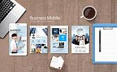 웹템플릿, 모바일템플릿, 스마트폰, User interface (Topic), UI KIT, 레이아웃, 탑앵글 (시점)