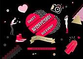 축하이벤트 (사건), 상업이벤트 (사건), 발렌타인데이 (홀리데이), 발렌타인데이, 커플, 약혼 (축하이벤트), 사랑 (컨셉), 선물 (인조물건), 리본 (장식품), 하트